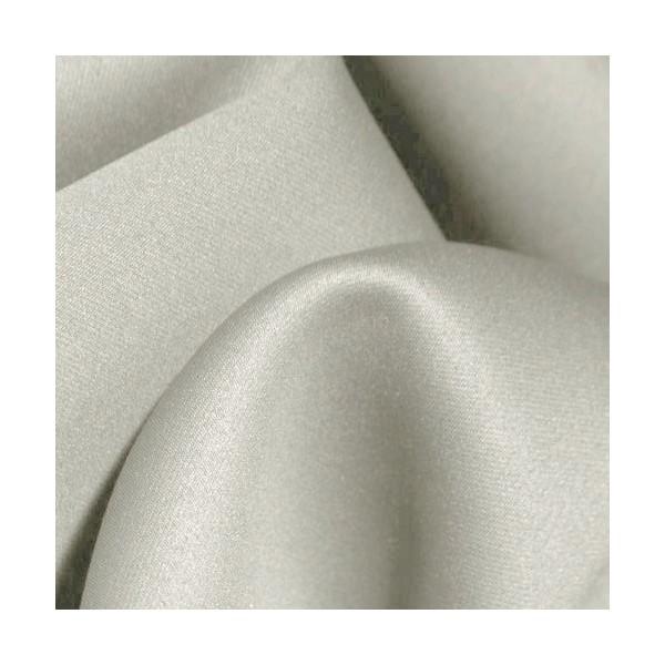 tissu au m tre occultant non feu gris clair faire des. Black Bedroom Furniture Sets. Home Design Ideas