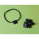 Raccord de chaînette coloris noir