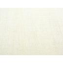 Voile étamine aspect lin Blanc Cassé